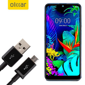 This 1 meter data / charging cable from Olixar allows you to connect your LG K50 to a PC via Micro USB. It supports charging currents over 2 amps, so your LG K50 can be up and running from flat in no time.