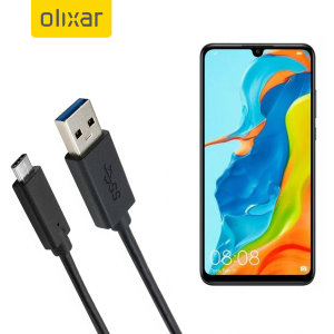 Make sure your Huawei P30 Lite is always fully charged and synced with this compatible USB 3.1 Type-C Male To USB 3.0 Male Cable. You can use this cable with a USB wall charger or through your desktop or laptop.