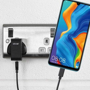 Charge your Huawei P30 Lite and any other USB device quickly and conveniently with this compatible 2.5A high power USB-C UK charging kit. Featuring a UK wall adapter and a 1m USB-C cable.