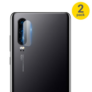 This 2 pack of ultra-thin tempered glass rear camera protectors for the Huawei P30 from Olixar offers toughness and superb clarity for your photography all in one package.