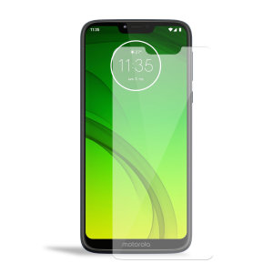 Olixar Motorola Moto G7 Power Tempered Glass Screen Protector
