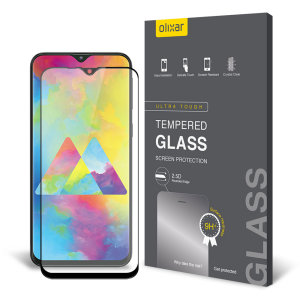 This ultra-thin tempered glass screen protector for the Samsung Galaxy M20 from Olixar offers toughness, high visibility and sensitivity all in one package.