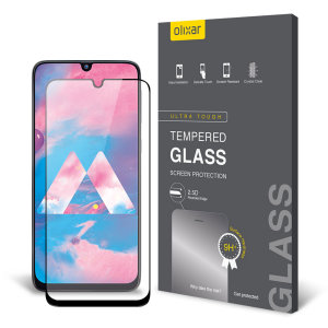 This ultra-thin tempered glass screen protector for the Samsung Galaxy M30 from Olixar offers toughness, high visibility and sensitivity all in one package.