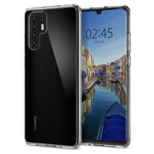 Protect your Huawei P30 Pro with the unique Ultra Hybrid clear bumper from Spigen. Complete with a clear back and air cushion technology to show off and protect your P30 Pro's sleek, modern design.