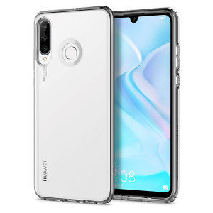 Durable and lightweight, the Spigen Liquid Crystal series for the Huawei P30 Lite offers premium protection in a slim, stylish package. Carefully designed, the Liquid Crystal case is form-fitted for a perfect fit.