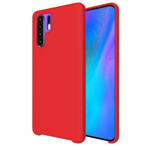 Custom moulded for the Huawei P30 Pro, this red soft silicone case from Olixar provides excellent protection against damage as well as a slimline fit for added convenience.