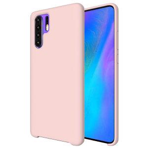 Olixar Soft Silicone Huawei P30 Pro Case - Pastel Pink