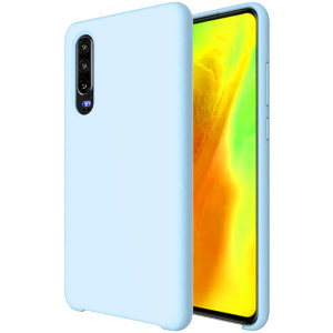 Custom moulded for the Huawei P30, this pastel blue soft silicone case from Olixar provides excellent protection against damage as well as a slimline fit for added convenience.