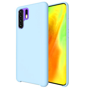 Custom moulded for the Huawei P30 Pro, this pastel blue soft silicone case from Olixar provides excellent protection against damage as well as a slimline fit for added convenience.
