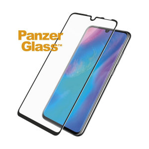 Introducing the premium range PanzerGlass glass screen protector in black. Designed to be shock and scratch resistant, PanzerGlass offers the ultimate protection, while also matching the colour of your stunning Huawei P30 Lite.
