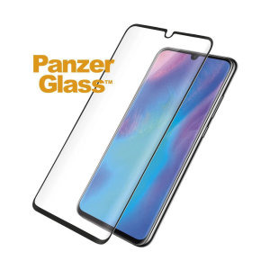 Introducing the premium range PanzerGlass glass screen protector in black. Designed to be shock and scratch resistant, PanzerGlass offers the ultimate protection, while also matching the colour of your stunning Huawei P30 Pro.