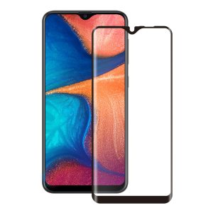 Introducing the ultimate in screen protection for the Samsung Galaxy A20e, the 3D Glass by Eiger is made from premium real glass with rounded edging and anti-shatter film.