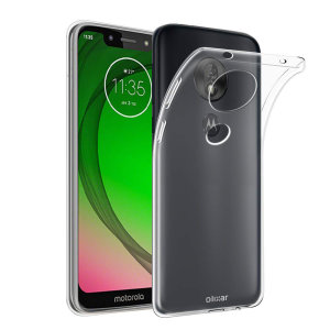 This ultra-thin 100% transparent gel case from Olixar provides a super slim fitting design, which adds no additional bulk to your Motorola Moto G7 Play. Offering durable protection against damage, while revealing the beauty of your phone from within.
