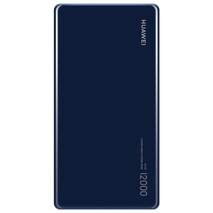 This official 12,000 mah power bank from Huawei in blue is the perfect way to keep your devices including laptops charged while out and about. Completely universal, this really is the ideal travel companion for you and your gadgets.