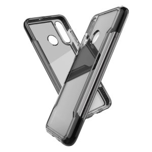 The X-Doria Defense clear with a Black frame and clear back is an incredibly stylish and protective case for your Huawei P30 Lite. Tested to survive 10ft drops onto concrete the Defense Clear provides excellent protection.