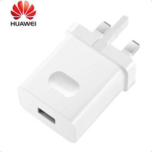 A genuine Huawei UK SuperCharge 40W mains charger for your SuperCharge your Huawei P30. Featuring folding pins for travel convenience.