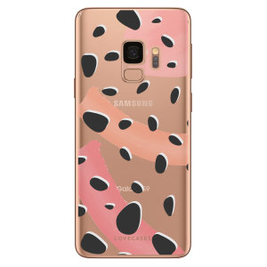 Take your Samsung S9 to the next level with this abstract polka phone case from LoveCases. Cute but protective, the ultrathin case provides slim fitting and durable protection against life's little accidents.