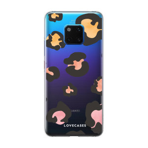 LoveCases Huawei Mate 20 Pro Gel Case - Colourful Leopard
