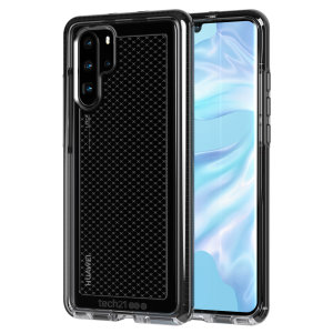 Tech21 Evo Check case for the new Huawei P30 Pro features three layers of ultimate protection against scratches, bumps and drops. Despite being ultra-thin and lightweight, the case protects your device from drops of up to 12ft (3.66m).