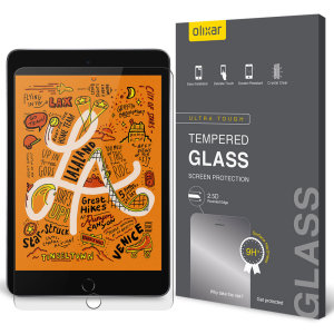 This Olixar ultra-thin tempered glass screen protector for the iPad Mini 2019 offers toughness, high visibility and sensitivity all in one package.