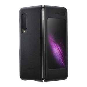 This Official Samsung Genuine Leather Cover Case in Black is the perfect way to keep your Galaxy Fold smartphone protected. The Leather Cover wraps your Galaxy Fold 5G in luxury premium calfskin leather ensure supreme style with ultra protection.