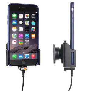 Use your iPhone 8 Plus safely in your vehicle with this small, neat and discreet Brodit Active Holder 521667. Its design means that the car holder will nicely blend in with your car's interior. This product also comes with an Apple-approved charger
