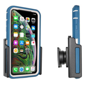 Use your iPhone XS Max safely in your vehicle with this small, neat and discreet Brodit Passive holder. Its design means that the car holder will nicely blend in with your car's interior. Thanks to tilt swivel you can easily adjust the angle. 711084