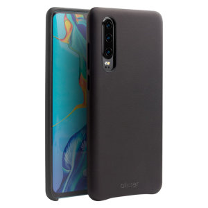 Crafted from premium genuine leather, this exquisite black case from Olixar for the Huawei P30 provides stunning style and prestigious protection for your phone in a slim and sleek package.