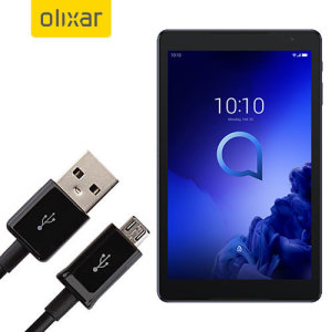 This 1 meter data / charging cable from Olixar allows you to connect your Alcatel 3T 10 to a PC via Micro USB. It supports charging currents over 2 amps, so your Alcatel 3T 10 can be up and running from flat in no time.