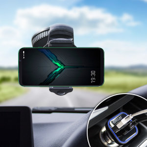 Essential items you need for your smartphone during a car journey all within the Olixar DriveTime In-Car Pack. Featuring a robust one-handed phone car mount and car charger with an additional USB port for your Xiaomi Black Shark 2.