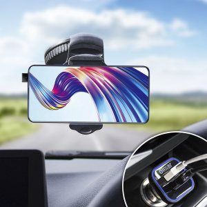 Essential items you need for your smartphone during a car journey all within the Olixar DriveTime In-Car Pack. Featuring a robust one-handed phone car mount and car charger with an additional USB port for your Vivo V15 Pro.