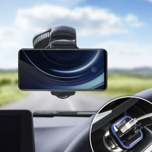 Essential items you need for your smartphone during a car journey all within the Olixar DriveTime In-Car Pack. Featuring a robust one-handed phone car mount and car charger with an additional USB port for your Vivo iQOO.