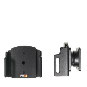 Use your iPhone XR safely in your vehicle with this small, neat and discreet Brodit Passive holder 711013. Its design means that the car holder will nicely blend in with your car's interior.Thanks to tilt swivel you can easily adjust the angle..