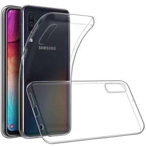 Olixar Flexishield Samsung Galaxy A70 Case - 100% Clear