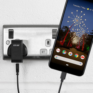 Charge your Google Pixel 3a and any other USB device quickly and conveniently with this compatible 2.5A high power USB-C UK charging kit. Featuring a UK wall adapter and a 1m USB-C cable.