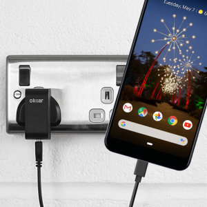 Charge your Google Pixel 3a XL and any other USB device quickly and conveniently with this compatible 2.5A high power USB-C UK charging kit. Featuring a UK wall adapter and a 1m USB-C cable.