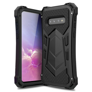 Full cover rugged protection for your Samsung Galaxy S10 with the Olixar Titan Armour 360 case. Featuring a triple layer shock resistant design and a built in screen protector, to prevent any possible damage.