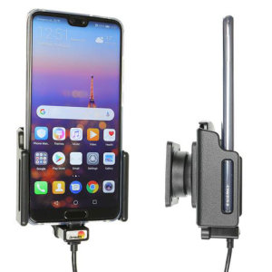 Use your Huawei P20 safely in your vehicle with this small, neat and discreet Brodit Active holder 721062. Its design means that the car holder will nicely blend in with your car's interior. This product also comes with USB Type C charging cable.