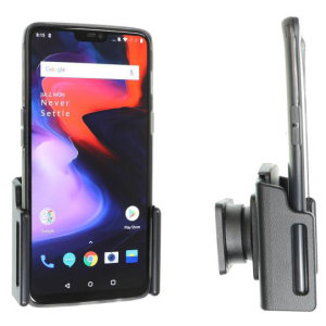 Use your OnePlus 6 safely in your vehicle with this small, neat and discreet Brodit Passive holder 711063. Its design means that the car holder will nicely blend in with your car's interior. Thanks to tilt swivel you can easily adjust the angle.