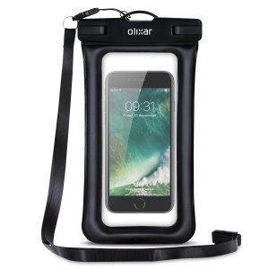 The Olixar Action Universal Waterproof Case for the iPhone 7 is a protective case providing 100% waterproofing and touchscreen operation for your iPhone for activities that require near water or even underwater adventures.