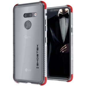 Custom molded for the LG G8, Ghostek tough case in clear provides a slim fitting, stylish design and reinforced corner protection against shock damage, keeping your device looking great at all times.