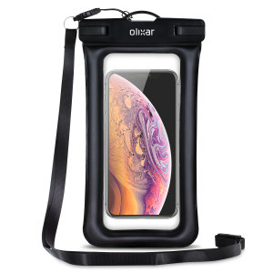 The Olixar Action Universal Waterproof Case for the iPhone XS is a protective case providing 100% waterproofing and touchscreen operation for your iPhone for activities that require near water or even underwater adventures.