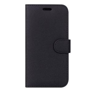 O Case FortyFour Samsung capa capa protetora da carteira em preto para o Samsung Galaxy A40 oferece excelente proteção. Fabricado com os melhores materiais, este estojo proporciona uma sensação sofisticada.