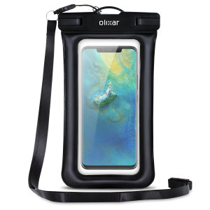 The Olixar Action Waterproof Case for the Huawei Mate 20 Pro is a protective case providing 100% waterproofing and touchscreen operation for activities that require near water or even underwater adventures.