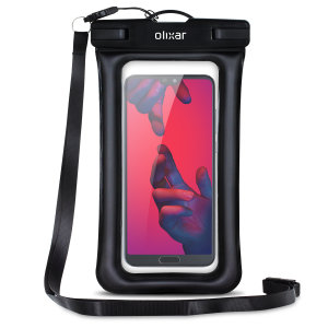 The Olixar Action Waterproof Case for the Huawei P20 Pro is a protective case providing 100% waterproofing and touchscreen operation for activities that require near water or even underwater adventures.