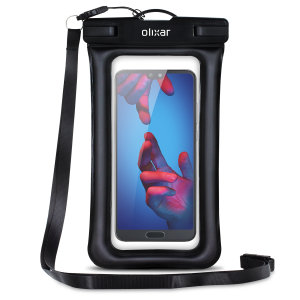 The Olixar Action Waterproof Case for the Huawei P20 is a protective case providing 100% waterproofing and touchscreen operation for activities that require near water or even underwater adventures.
