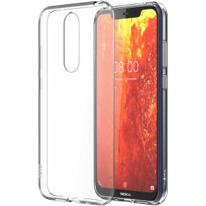Protect your Nokia 8.1 from the knocks, scrapes and drops everyday life throws your way with this official clear silicone cover. This case adds virtually no bulk to your device, leaving the Nokia 8.1 as sleek and slim as on day one.