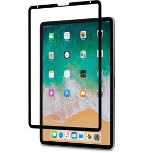 Spécialement conçue pour iPad Pro 12.9 (3ème génération), la protection d'écran Moshi iVisor AG en verre trempé offre une protection remarquable contre les chocs et les rayures. Dotée d'un cadre noir élégant, cette protection d'écran maintient le plus haut niveau possible en matière de clarté et de sensibilité tactile à tout moment.