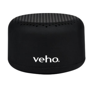 The Veho M2 is an ultra-compact, portable Bluetooth wireless speaker from the M-Series range. It features a powerful rechargeable battery that delivers up to 10 hours of music playback. The M2 speaker can be paired with another M2 speaker to amplify sound