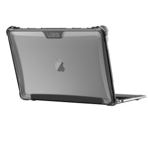 The Urban Armour Gear clear tough case for the Apple MacBook Pro 13 inch 2018 comprises of a protective TPU case with a brushed metal UAG logo insert for an amazing design that complements your MacBook perfectly.